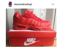 Red Airmax 95 all sizes boxed