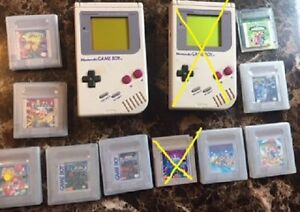 selling one gameboy and games