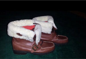 Size 6.5 Polo by Ralph Lauren Ultra Hi Shearling Leather Boots London Ontario image 1