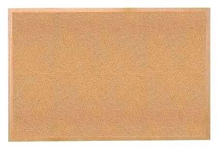 Large Cork Board 120 X 90 Cm Light Oak Frame In Penzance