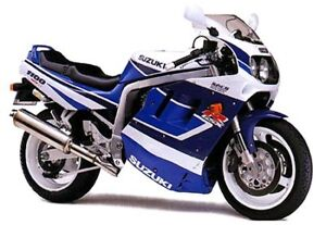 Wanted:   1991 GSXR  1100 or 750 in Mint shape