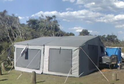 Full off-road camper trailer - with fit out - as new Katoomba Blue Mountains Preview