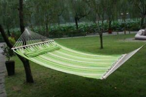 83 Fabric Hammock with Pillow / Camping Hammock / HAMMOCK