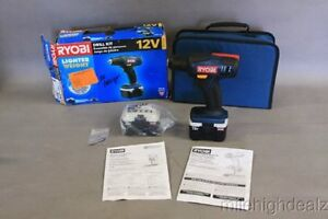 NEW Sealed RYOBI Drill Kit 12V (2 batteries and carrying case) Windsor Region Ontario image 2