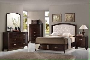 Brand new 7 pc queen storage bedroom set $1698+FREE DELIVERY