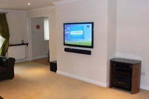 TV installation tv wall mounting tv mounting $45 Cambridge Kitchener Area image 7