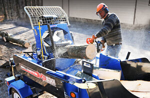 firewood processor for rent