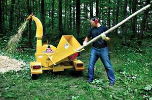 Wood Chipper For Rent - Delivered
