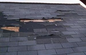 TODAY/ TONIGHT ROOFING SHINGLES LEAKS GUTTERS SIDING