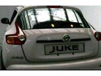 Nissan Juke Tailgate Trunk Handle Trims/ Finishers In Z11 Black Brand New