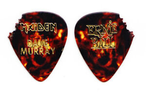 Iron Maiden Dave Murray Brown Guitar Pick - 2003 Tour
