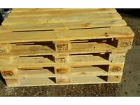 Wooden pallets Euro epal ideal for garden furniture /beds shipping etc free local delivery £5