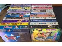VHS Disney tapes, free to a good home
