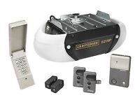 GARAGE DOOR OPENERS INSTALLATION $95