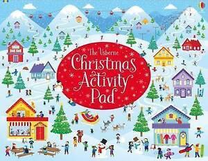 Christmas Activity Pad Paperback