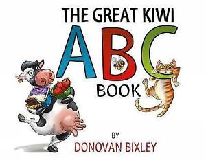 The Great Kiwi ABC Book by Bixley Donovan  Paperback Book  9781927262719  NE - Leicester, United Kingdom - The Great Kiwi ABC Book by Bixley Donovan  Paperback Book  9781927262719  NE - Leicester, United Kingdom