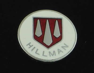 Hillman Metal Enamel Lapel Pin Badge