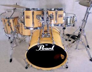 Pearl MLX Natural Maple 5pce shell pack w/ 24 kick MLX-24D Doncaster East Manningham Area Preview