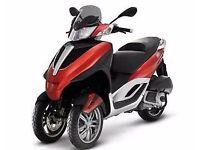 New Piaggio mp3 yourban red