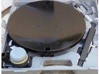 portable satellite dish and box