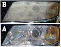 Headlight restoration in your place ! ANY CAR $50 !!!