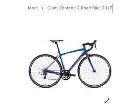 Giant contend 2 2017 road bike