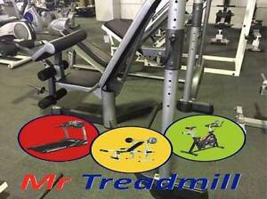 CELSIUS HEAVY DUTY BENCH WITH RACK - MR TREADMILL Geebung Brisbane North East Preview