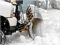 Driveway Snow Plowing and Walkway Shoveling Service