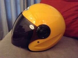 Yellow Haoshun Motorbike Helmet