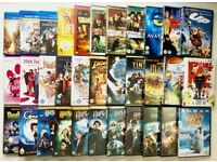 Used: 91 DVDs & 7 BluRays, a total of 98 items divided into 3 boxes. 60.00 ea or 170.00 for 3