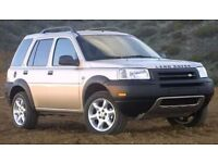 LANDROVER FREELANDER WANTED, CHEAP ANYTHING CONSIDERED