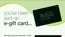 M&S (Mark and Spencer) £100 coupon