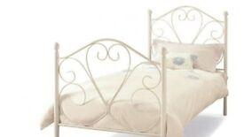 whites single bed frame