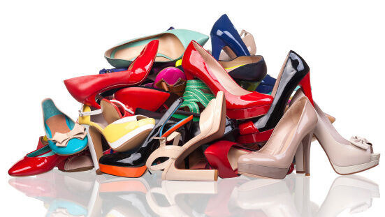 Sick of all your shoes? Why not choose something a bit wackier?