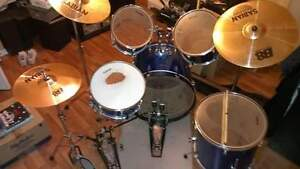 Ludwig drums with brand new double pedal