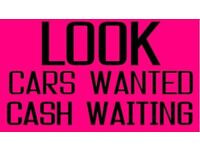 ALL CARS AND VANS WANTED