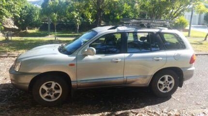 2001 Hyundai Santa Fe Wagon and travel equipment Clifton Beach Cairns City Preview