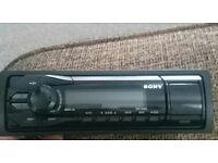 Sony car stereo USB aux
