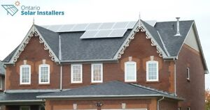 Solar panels microFIT & Net Metering programs Kingston Kingston Area image 5