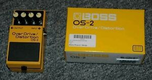 BOSS OS‑2 Overdrive and Distortion Pedal