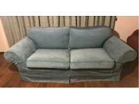 Wide 2 seater sofa