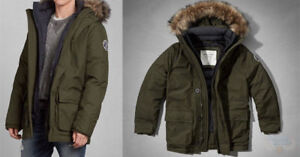 Brand new Wanika Parka in Large & Olive from Abercrombie&Fitch