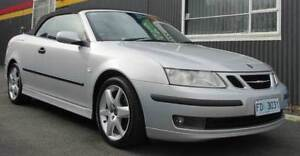 2003 Saab 9-3 2.0LT Turbo Convertible Youngtown Launceston Area Preview