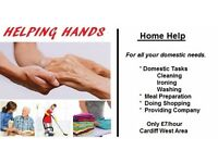 Helping Hands - Cleaning,Ironing,Washing,Shopping,Dog Walking,Odd Jobs,Sitting with elderly/children