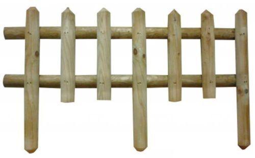 steccato in legno  cm 120x80h recinto recinzione staccionata giardino