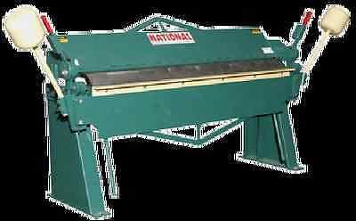 National U4812 4 12 Ga Box Pan Brake Made In Usa