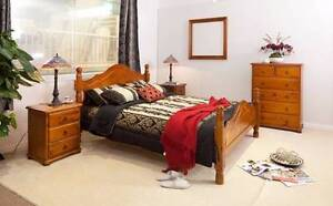 PROVINCIAL 4PCE QUEEN BEDROOM SUITE Villawood Bankstown Area Preview