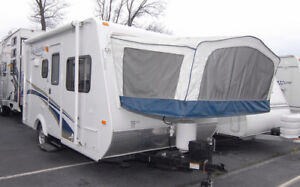 travel trailer hybrid rental