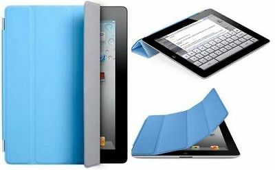 Original Apple Ipad 2,3&4 Smart Cover Case MD310ZM/A Polyurethan Blue New Sealed