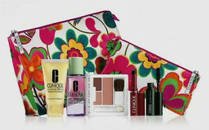 Clinique-7-piece-make-up-set-with-bag-mascara-moisturiser-etc-New-Not-boxed